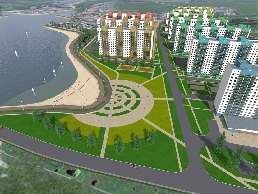 Проекты: «Дом на Островского», микрорайон «Олимпийской Славы»
