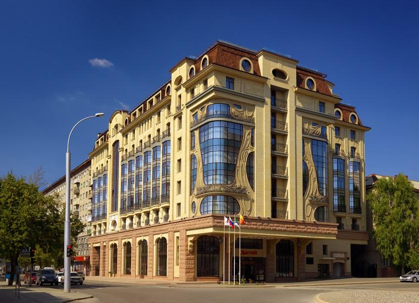 Novosibirsk Marriott Hotel: пять звёзд в центре города