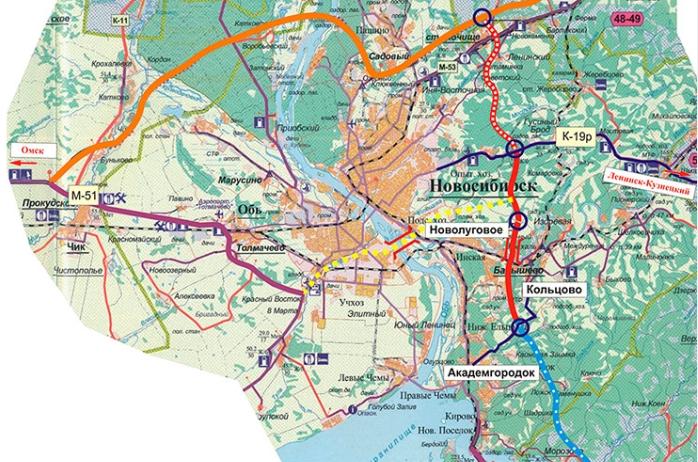 Транспортно- логистическая карта НСО