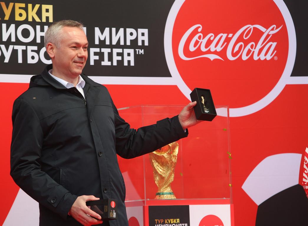Чемпионат мира по футболу FIFA пришёл в Новосибирскую область