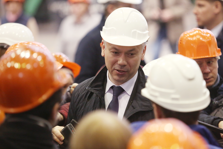 Андрей Травников: «Нужно реализовывать грандиозные проекты»
