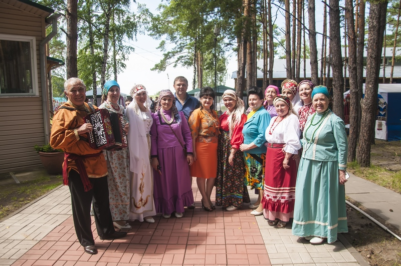 Сибирь многонациональная