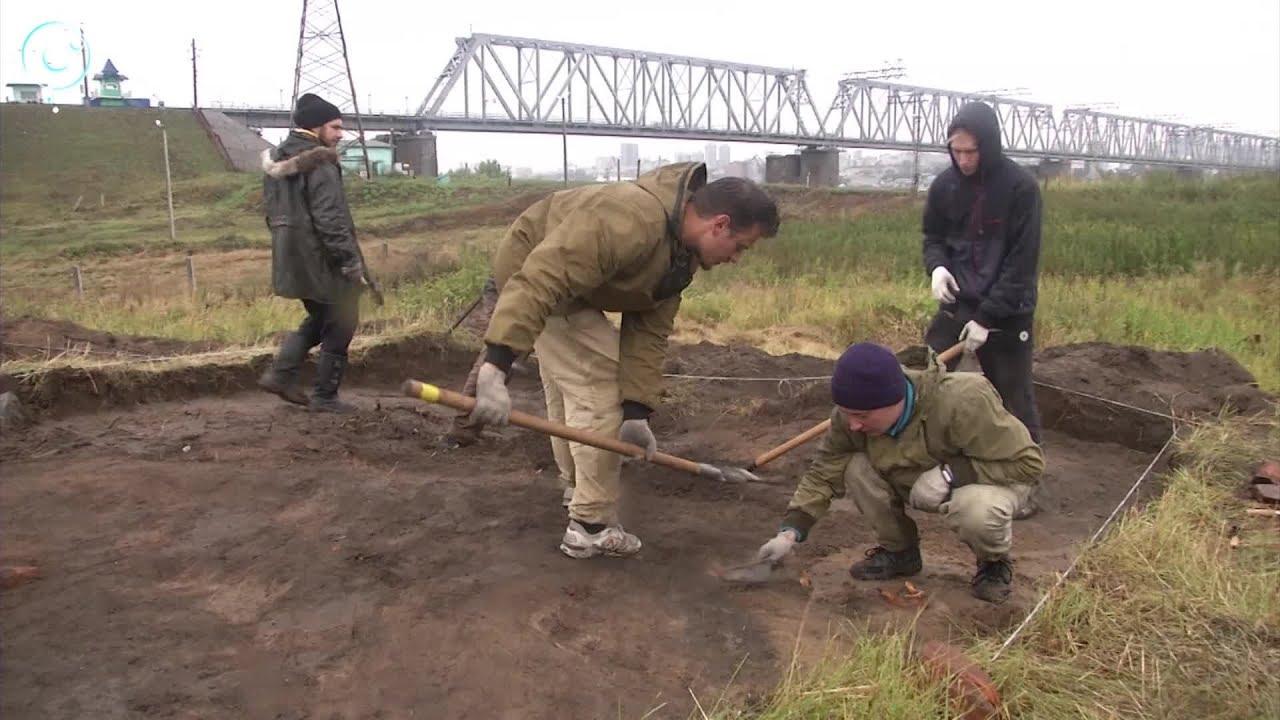 Археологи нашли старинную монету на месте будущего строительства четвертого моста