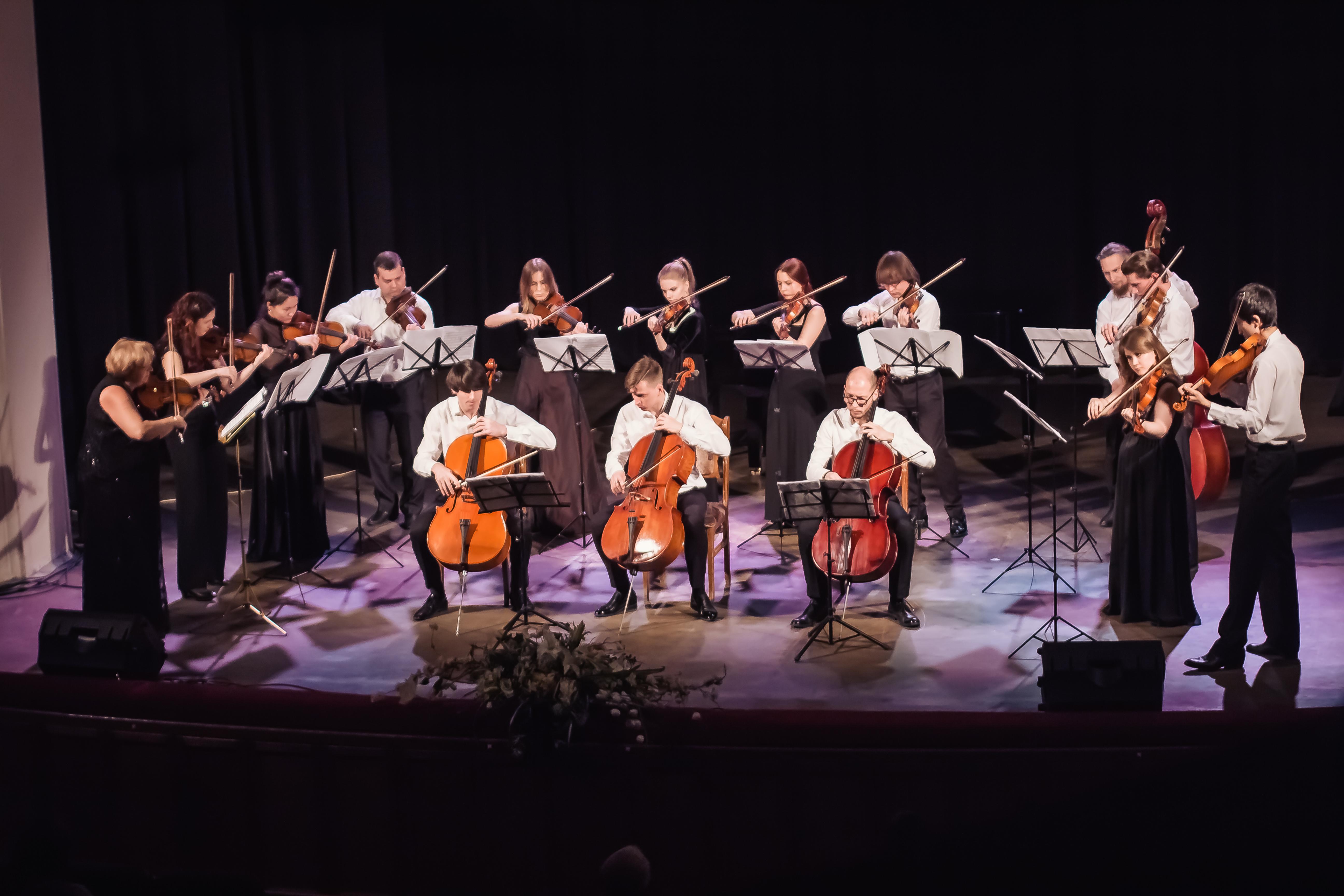 «Твой концерт с оркестром» – новый проект муниципального камерного оркестра «Блестящие смычки»