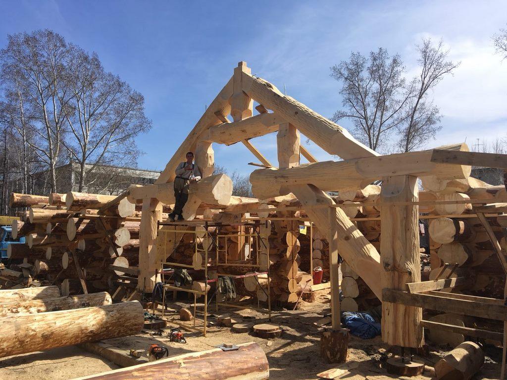 Деревянное домостроение: на витке роста