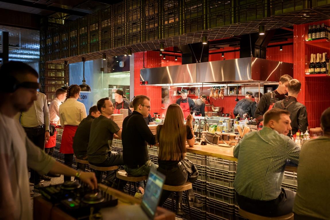 Открытие ресторана Aziatish