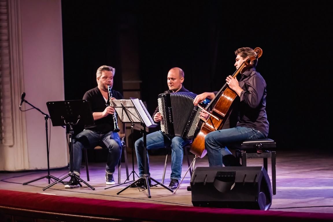 Бетховен в ритме танго: Trio NeuKlang на сцене ДК «Энергия»