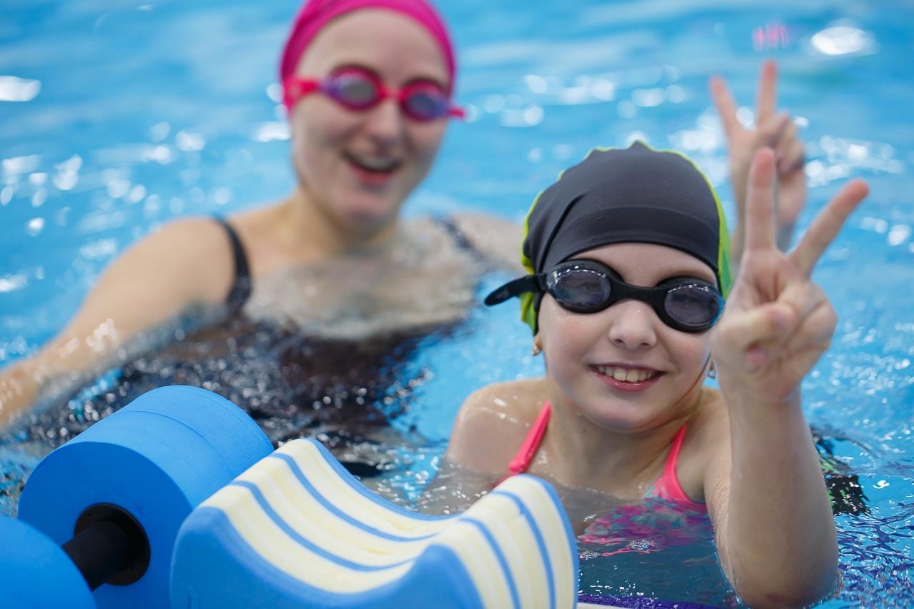 Волонтёры проекта «Спорту Место» устроили детям с ДЦП посвящение в космонавты в бассейне