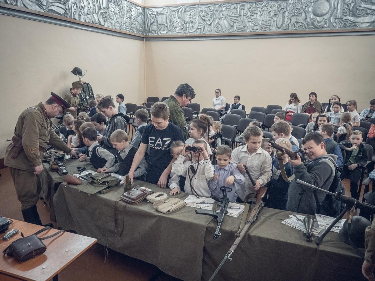 Интерактивное занятие в селе Атаманово Красноярского края