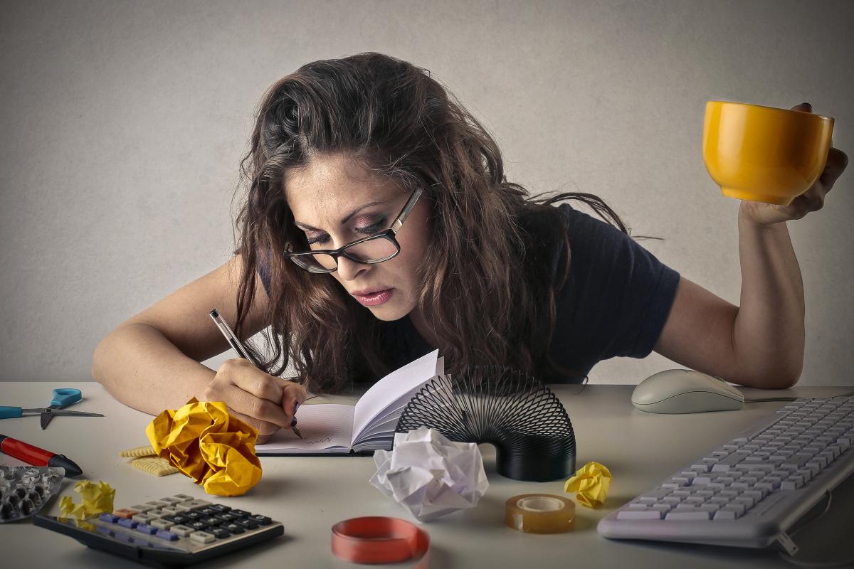 Нет времени отдыхать, нет сил работать