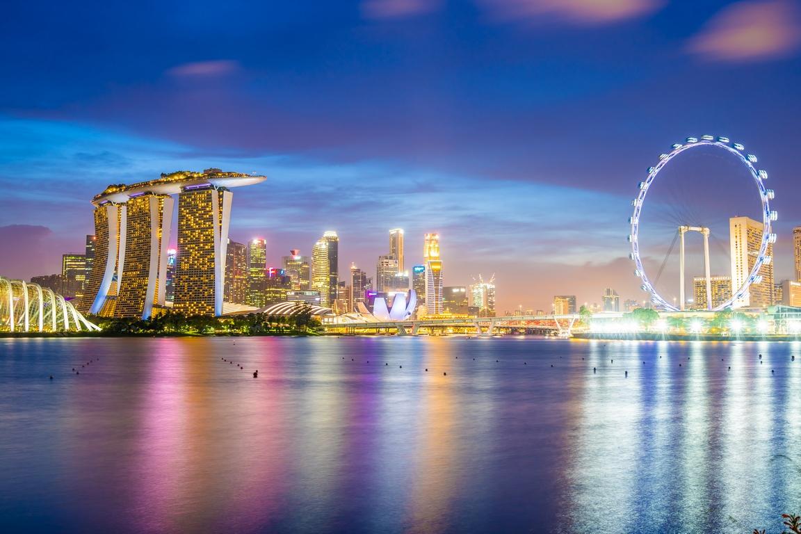 Сингапур, в котором растут все