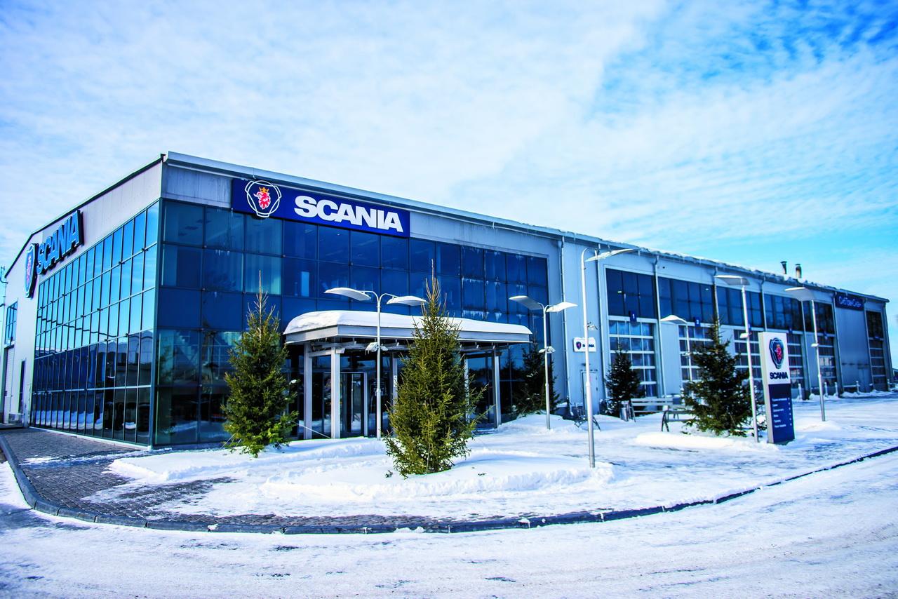 Scania у руля перемен