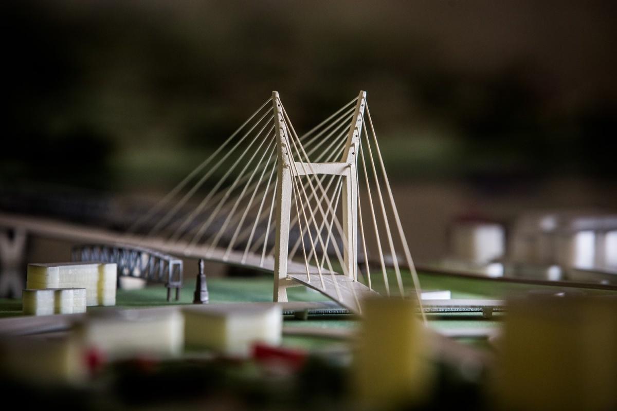 Началось возведение первой опоры четвертого новосибирского моста через Обь