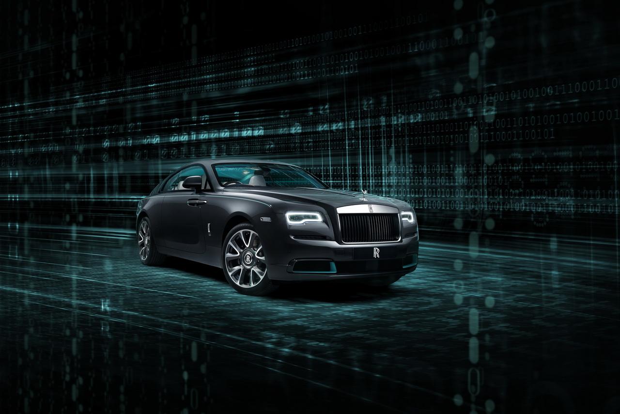 Коллекция Rolls-Royce Wraith Kryptos: лабиринт тайных шифров