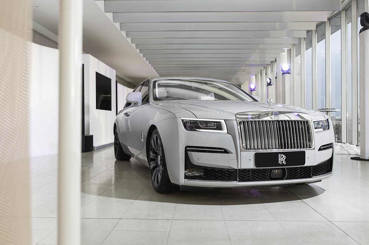 Новый Rolls-Royce Ghost дебютирует В России